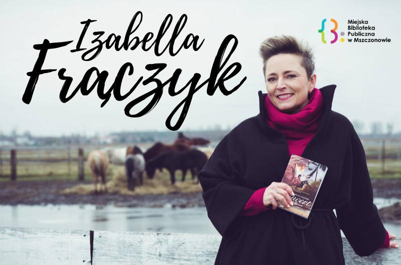 Izabella Frączyk – spotkanie autorskie