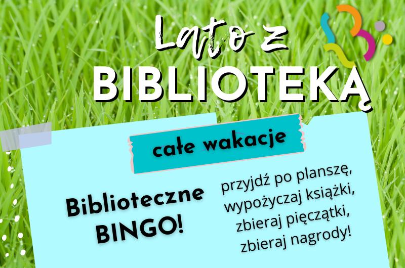 Biblioteczne bingo!